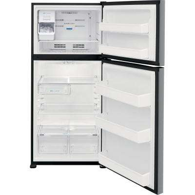18.3 cu. ft. Top Freezer Refrigerator in Stainless Steel, ENERGY STAR
