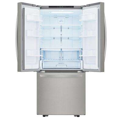 21.8 cu. ft. French Door Refrigerator in Stainless Steel