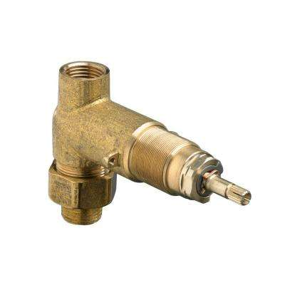 1/2 in. Inlet/Outlet Rough On/Off Volume Control Valve