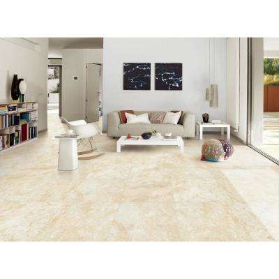 Isabela Ivory 24 in. x 24 in. Matte Porcelain Paver Tile (14 pieces / 56 sq. ft. / pallet)