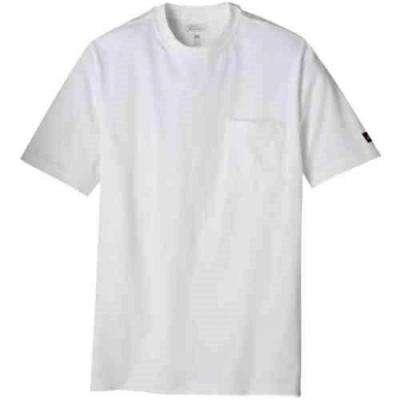 Men's White Pocket T-Shirt