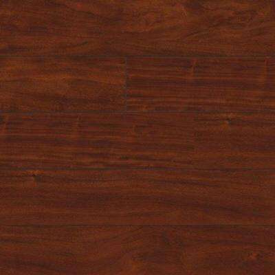 Vista Falls Brazilian Mahogany 12 mm Thick x 4.96 in. Wide x 50.79 in. Length Laminate Flooring (20.99 sq. ft. / case)