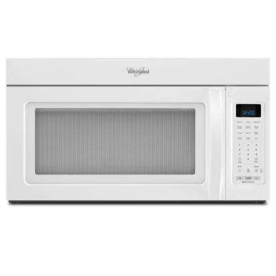 1.9 cu. ft. Over the Range Microwave in White with Sensor Cooking