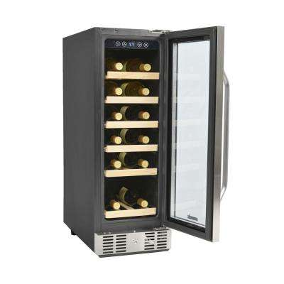 19-Bottle Built-in Wine Cooler