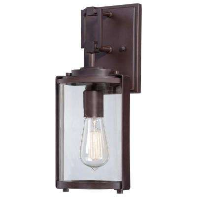 Ladera 1-Light Alder Bronze Outdoor Wall Mount