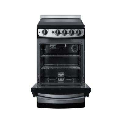 20 in. 2.4 cu. ft. Slide-In Electric Range in Stainless Steel