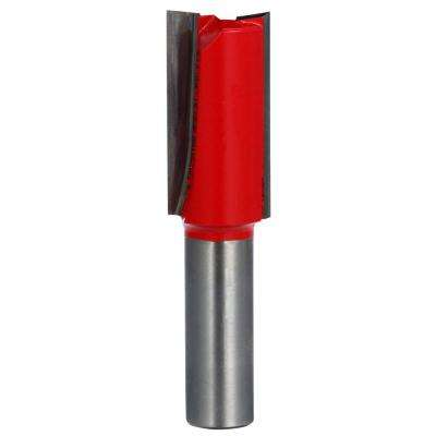 3/4 in. x 1-1/2 in. Carbide Straight Router Bit
