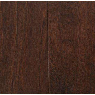 Hand Scraped Birch Heritage 3/8 in. T x 5-3/4 in. W x Varying Length Click Lock Hardwood Flooring (22.68 sq. ft. / case)