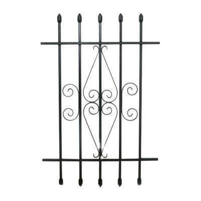 24 in. x 36 in. Spear Point Window Bar Guard