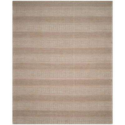 Marbella Brown 8 ft. x 10 ft. Area Rug
