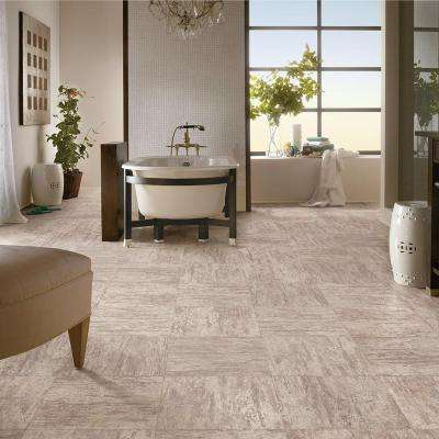 Warm Day 18 in. x 18 in. Peel and Stick Vinyl Tile (33.75 sq. ft. / case)