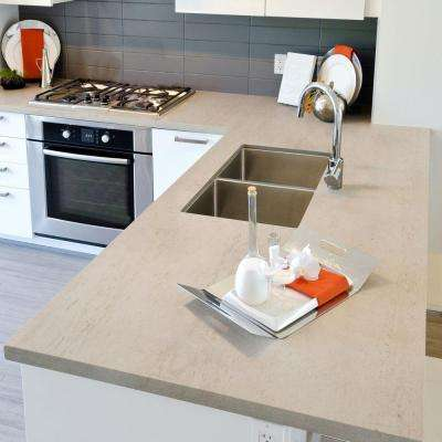 4 in. x 4 in. Ultra Compact Surface Countertop Sample in Danae
