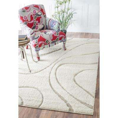 Carolyn Cream 3 ft. x 8 ft. Runner Rug