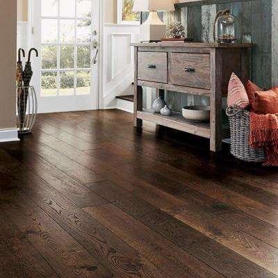White Oak Earthy Tone 1/2 in. T x 7-1/2 in. W x Varying L Engineered Hardwood Flooring (25.7 sq. ft.)