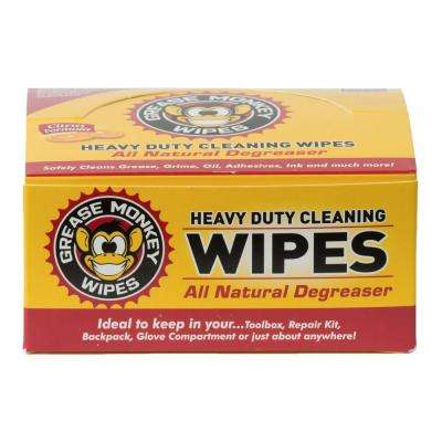 Individual Heavy-Duty Multi-Purpose Cleaning Wipes (Box of 24)