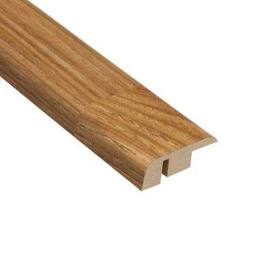 Cottage Chestnut 7/16 in. Thick x 1-5/16 in. Wide x 94 in. Length Laminate Carpet Reducer Molding