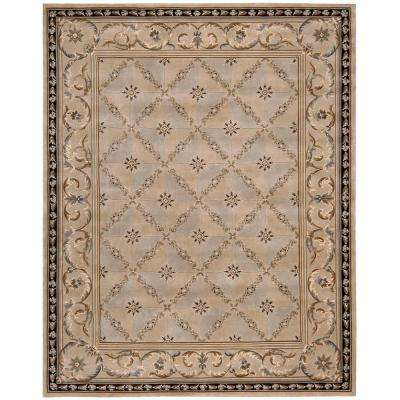 Versailles Palace Beige 7 ft. 6 in. x 9 ft. 6 in. Area Rug