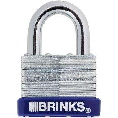 2 in. (50 mm) Laminated Steel Padlock with Boron Shackle