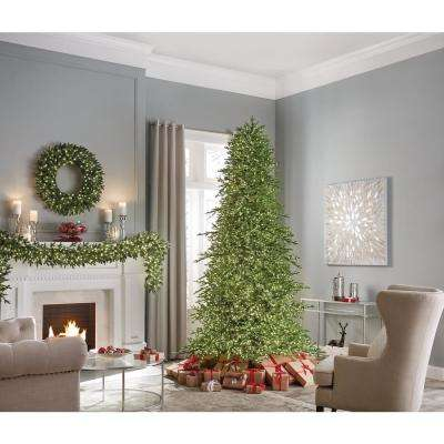 9 ft. Pre-Lit LED Majestic Brilliance Fir Artificial Christmas Tree with 7000 Warm White Fairy Lights