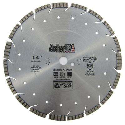 14 in. Super Diamond Blade for General Purpose