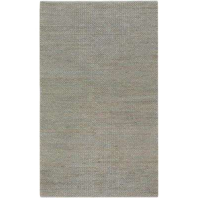 Levan Blue Gray 5 ft. x 8 ft. Area Rug