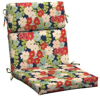 Francesca Floral Outdoor Dining Chair Cushion