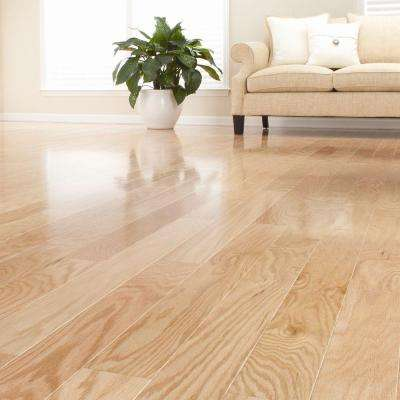 Red Oak Unfinished 1/2 in. Thick x 3 in. Wide x Random Length Engineered Hardwood Flooring (24 sq. ft. / case)