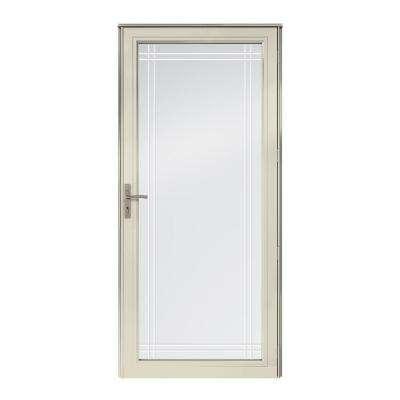 3000 Series Full View Interchangeable Aluminum Storm Door