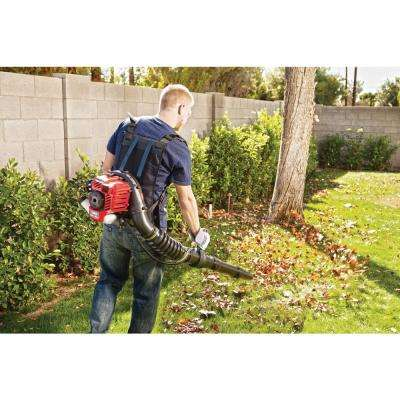 145 MPH 445 CFM 2-Cycle 27cc Gas Backpack Leaf Blower with JumpStart Capabilities