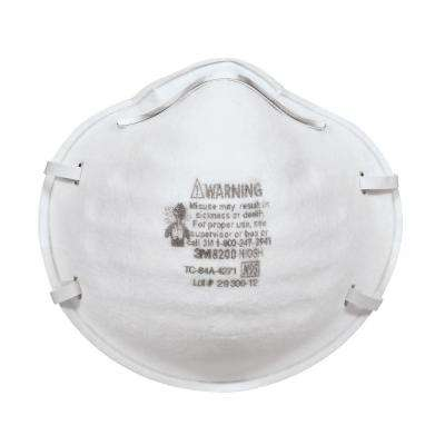 Full-Face Sanding and Fiberglass Respirators (20-Pack) (Case of 4)