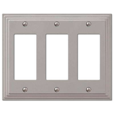 Steps 3 Decora Wall Plate - Nickel