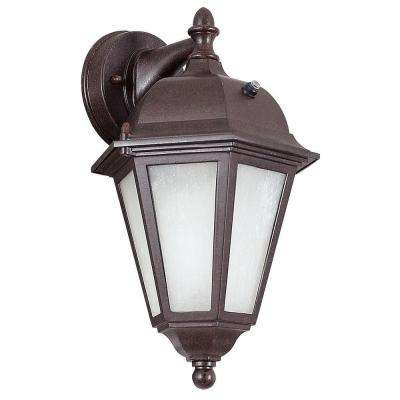 Hutchings 1-Light Oil Rubbed Bronze Outdoor Wall Lantern