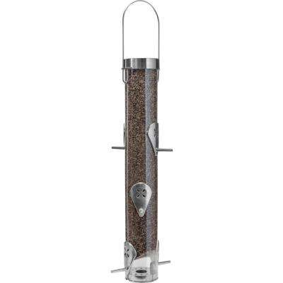16 in. Classic Nyjer Seed Finch Bird Feeder with Ring Pull