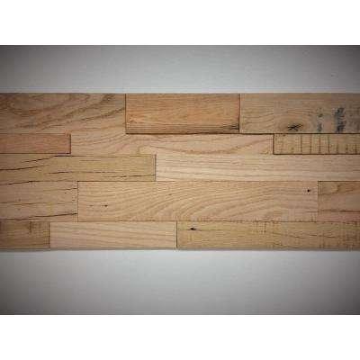 1 in. x 39.5 in. x 11.5 in. Reclaimed Heirloom American Barn Wood Wall Panel