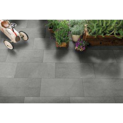 Madison Celeste 12 in. x 24 in. Polished Porcelain Floor and Wall Tile (16 sq. ft. / case)