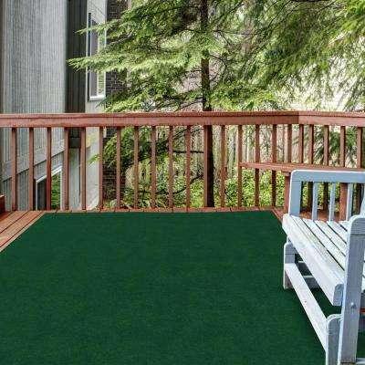 Fairway Green 6 ft. x 8 ft. Indoor/Outdoor Area Rug