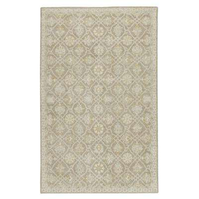 Essence Grey 5 ft. 3 in. x 8 ft. 3 in. Area Rug