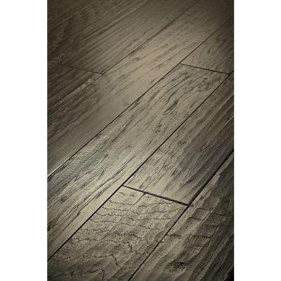 Western Hickory Winter Grey 3/8 in. Thick x 5 in. Wide x Random Length Engineered Hardwood (19.72 sq. ft. / case)