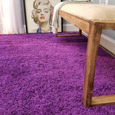 Bella Collection Purple 3 ft. x 5 ft. Area Rug