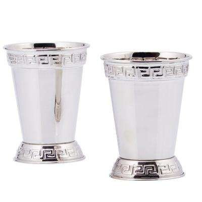 12 oz. Mint Julep Cup in Nickel Plated (Set of 2)