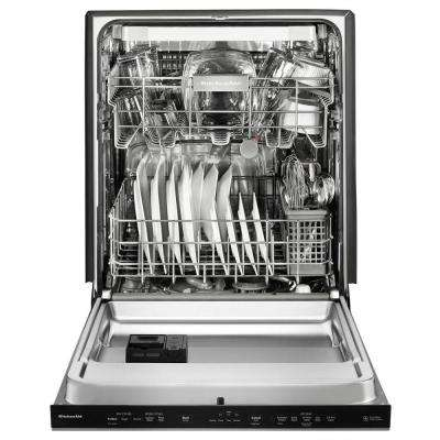 Top Control Built-In Tall Tub Dishwasher in PrintShield Stainless with Fan-Enabled PRODRY, 39 dBA