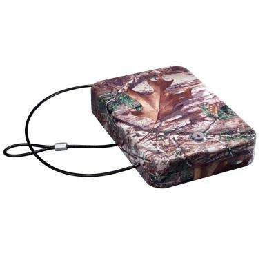 Stack-On .004 cu. ft. Steel Portable Security Case with Key Lock and Realtree Xtra Camo Finish