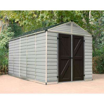 SkyLight 8 ft. x 12 ft. Tan Storage Shed