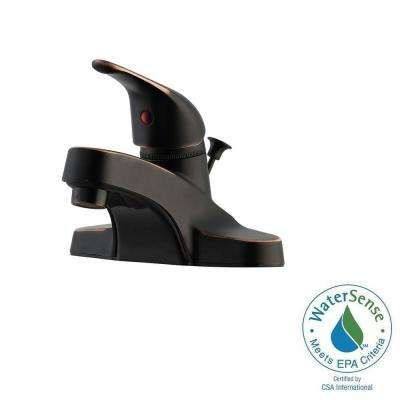 Middleton 4 in. Centerset 1-Handle Bathroom Faucet in Oil Rubbed Bronze