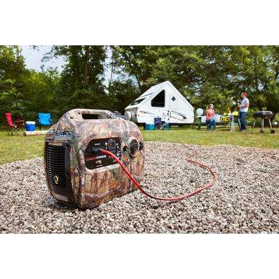 RealTree 2,100 Starting Watt Gasoline Powered Digital Inverter Generator