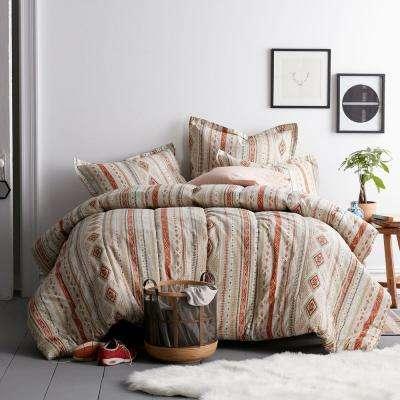 Ithaca Cotton Percale Comforter Set