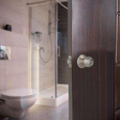 Saturn Stainless Steel Bed/Bath Privacy Door Knob