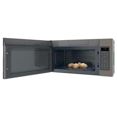 1.9 cu. ft. Over the Range Microwave with Sensor Cooking in Slate, Fingerprint Resistant