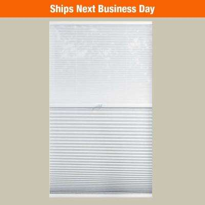 Light Filtering and Blackout 9/16 in. Cordless Day and Night Cellular Shade
