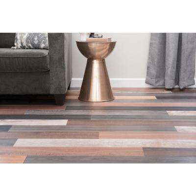 Versaplank Assorted Commercial 6 in. x 48 in. Peel and Stick Luxury Vinyl Plank Flooring (20 sq. ft. / case)